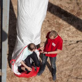 Спасательный пожарный рукав Самоспас