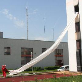 Трап спасательный пожарный Самоспас