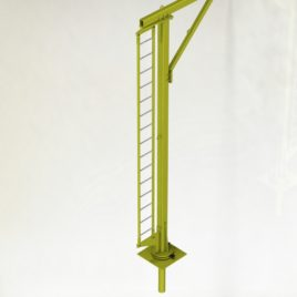 Стационарная вспомогательная металлоконструкция для крепления стационарных анкерных устройств, с анкерной точкой РА1 (ВМ ТехноМАС 002 Fixed)