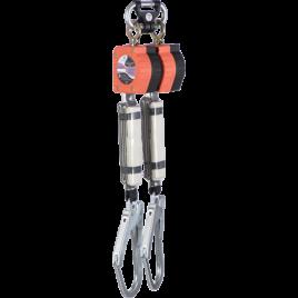 Двухплечевое средство защиты втягивающего типа «НВ-02» с карабином «Стальной Монтажный»