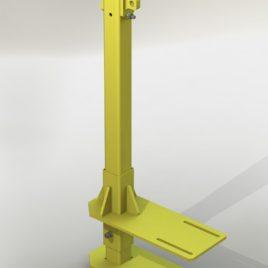 Столбик (с двумя РА1) для крепления к горизонтальной балке (BM TexноМАС)