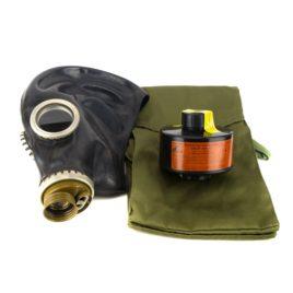 Противогаз ППФ-95 маска ШМП фильтр A1 | серия Бриз-3301